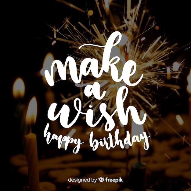 Fond d'anniversaire Vecteur gratuit