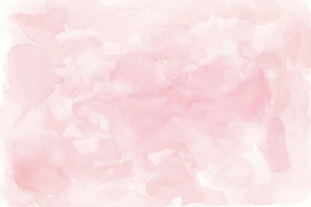 Fond aquarelle rose Vecteur gratuit
