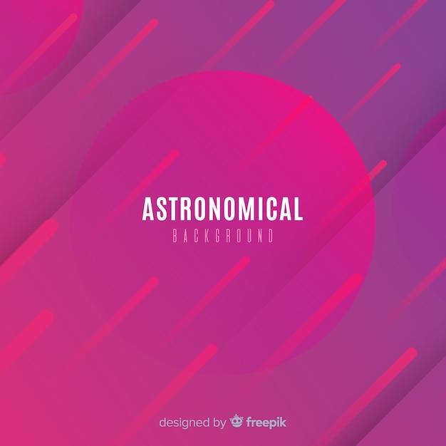 Fond astronomique Vecteur gratuit