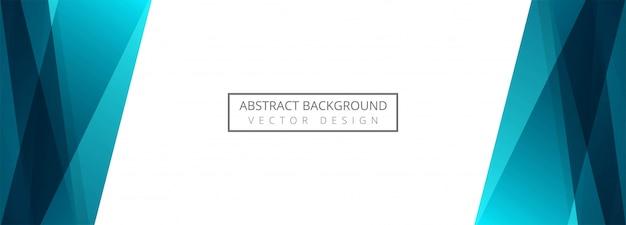 Fond De Bannière Abstraite Vague Créative Vecteur gratuit
