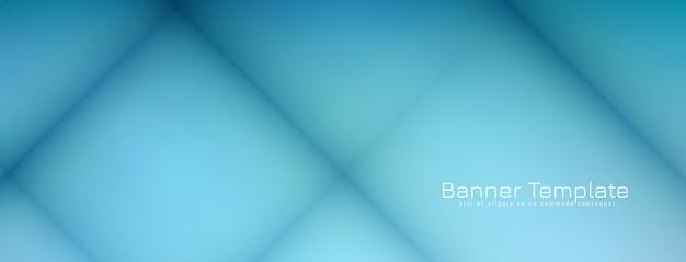 Fond De Bannière Moderne Décoratif Abstrait Vecteur gratuit
