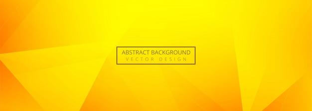 Fond De Bannière De Polygone Abstrait Vecteur gratuit