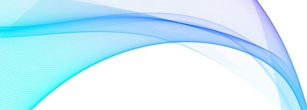 Fond De Bannière Vague Colorée Moderne Vecteur gratuit