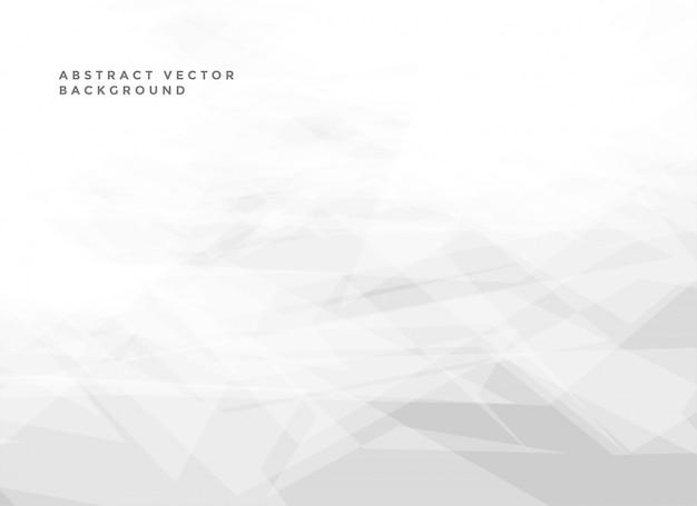 Fond blanc abstrait avec fond Vecteur gratuit
