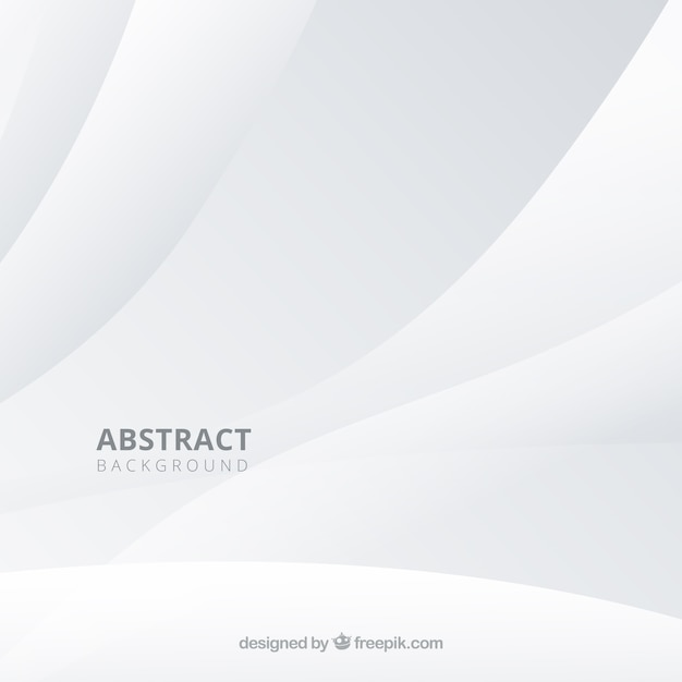 Fond blanc dans un style abstrait Vecteur gratuit