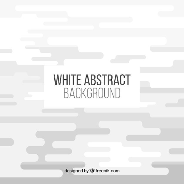 Fond blanc avec un design abstrait Vecteur gratuit