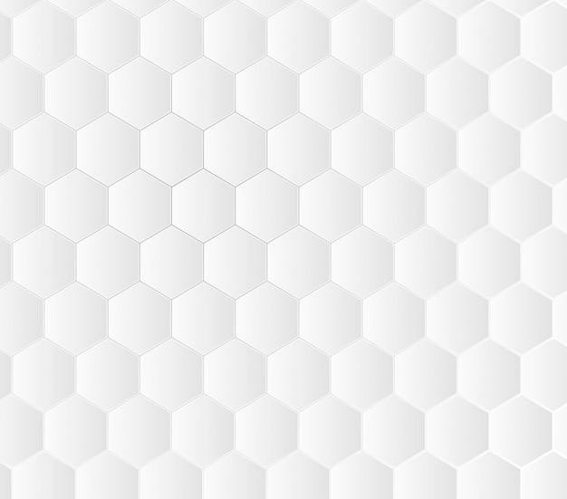 Fond blanc géométrique concept médical. Vecteur Premium