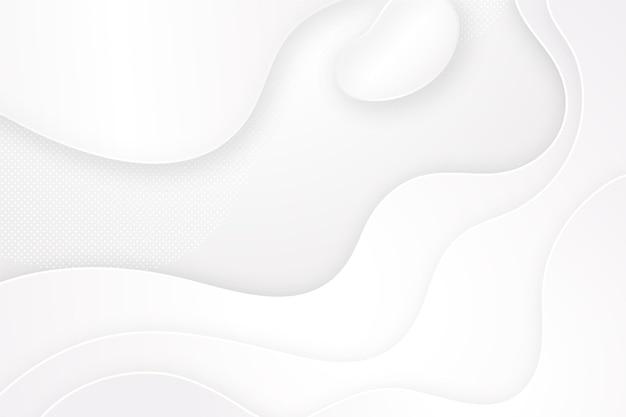 Fond Blanc Minimaliste Vecteur gratuit