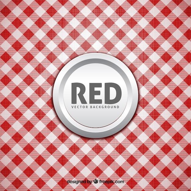 Fond Blanc Et Rouge Vecteur Premium