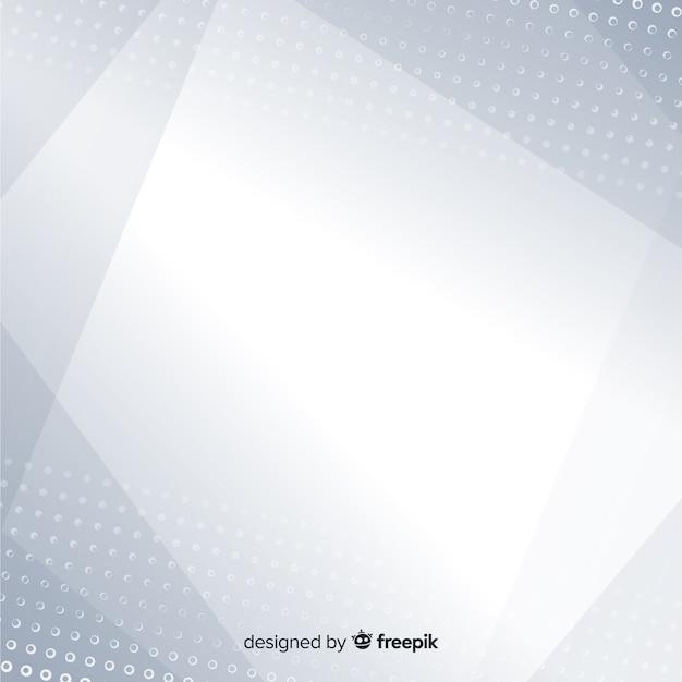 Fond Blanc Avec Style Abstrait Vecteur gratuit