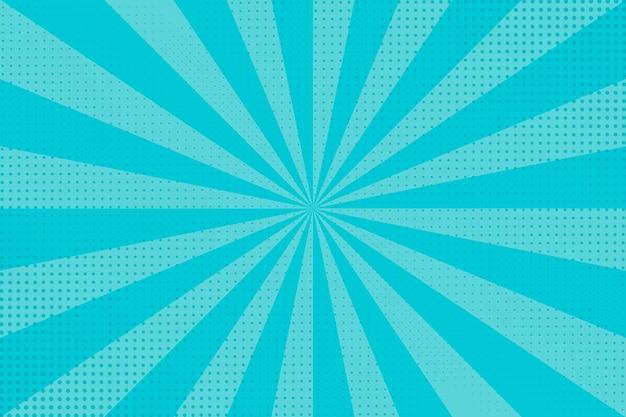 Fond Bleu Demi-teinte Abstrait Vecteur Premium
