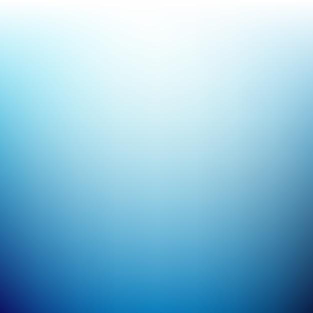 Fond bleu flou brillant Vecteur gratuit