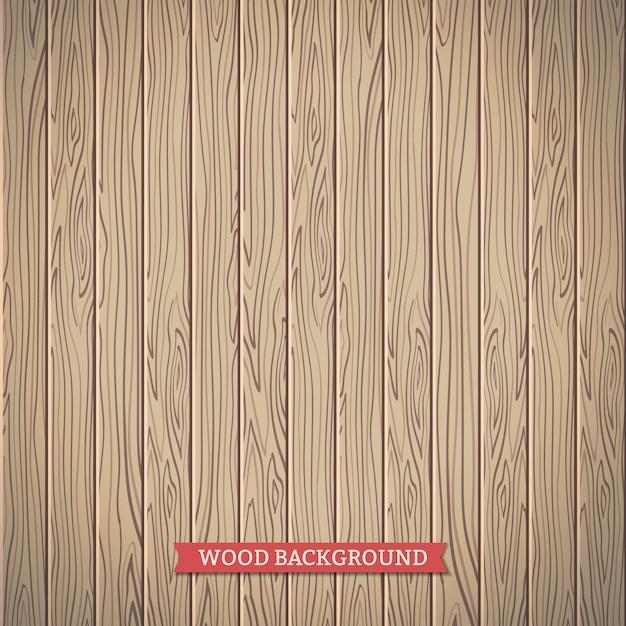 Fond de bois Vecteur Premium