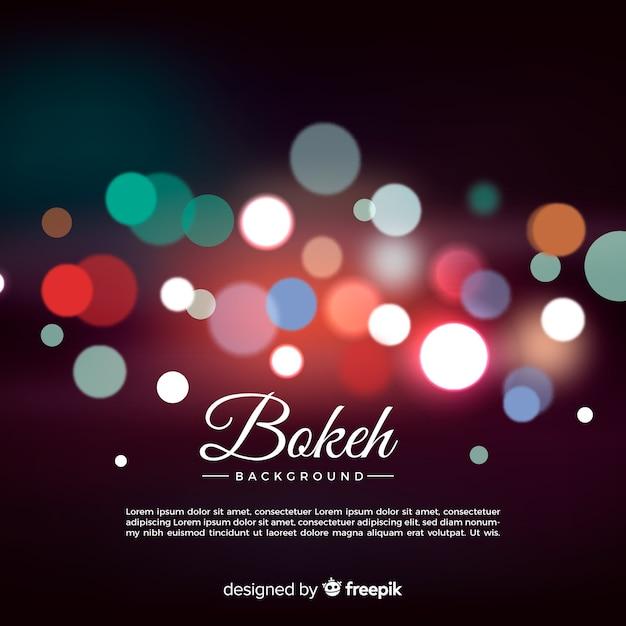 Fond de bokeh élégant Vecteur gratuit