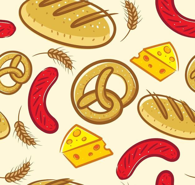 Fond De Boulangerie Vecteur Premium