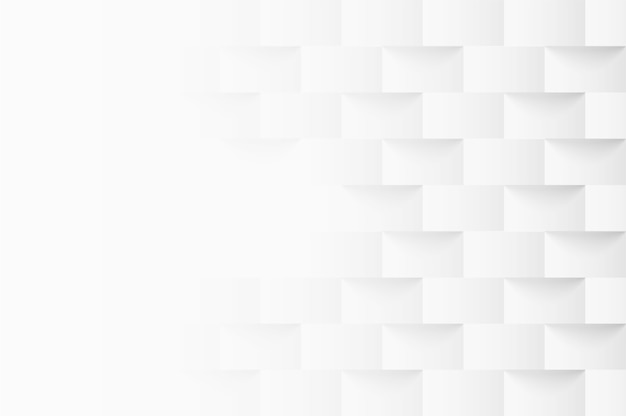 Fond carré géométrique en relief Vecteur Premium