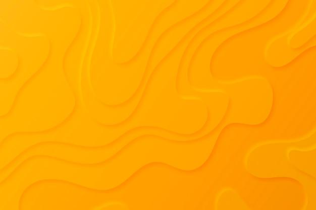 Fond De Carte Topographique Avec Des Couches Orange Vecteur gratuit