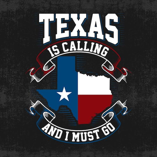 Fond de carte de vecteur texas Vecteur Premium