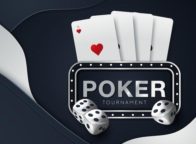 Fond de casino Vecteur Premium