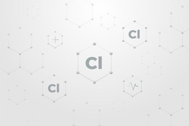 Fond De Chlore Vecteur gratuit