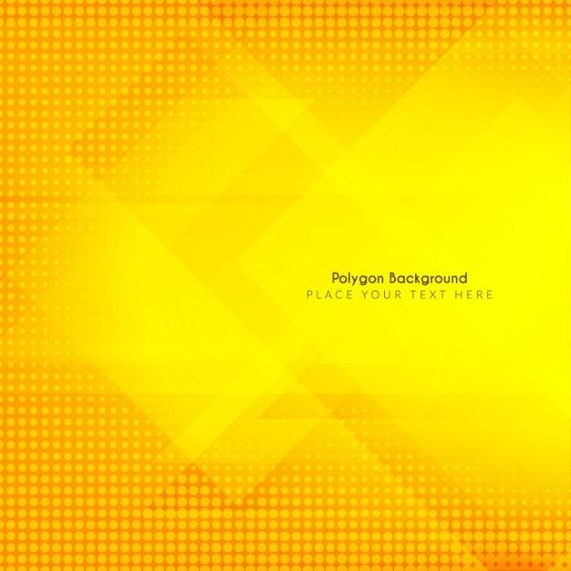 Fond clair avec des formes polygonales et tramée Vecteur gratuit