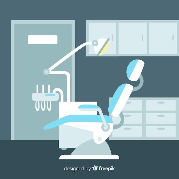 Fond de clinique dentaire Vecteur gratuit