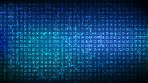 Fond De Code Binaire. Données Binaires Numériques Et Fond De Code Numérique En Continu. Vecteur Premium
