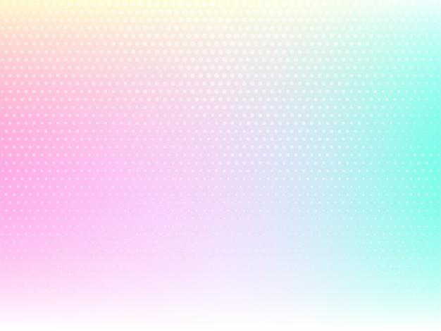 Fond Coloré Décoratif Avec Un Design En Demi-teinte Vecteur gratuit