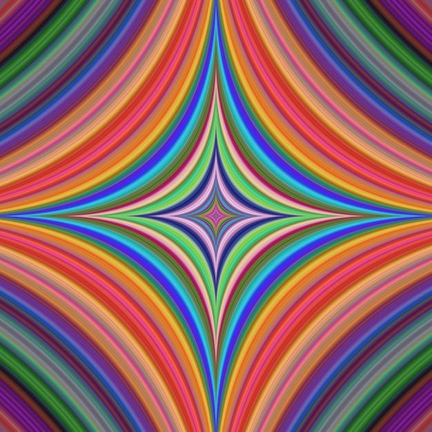 Fond coloré psychédélique Vecteur gratuit