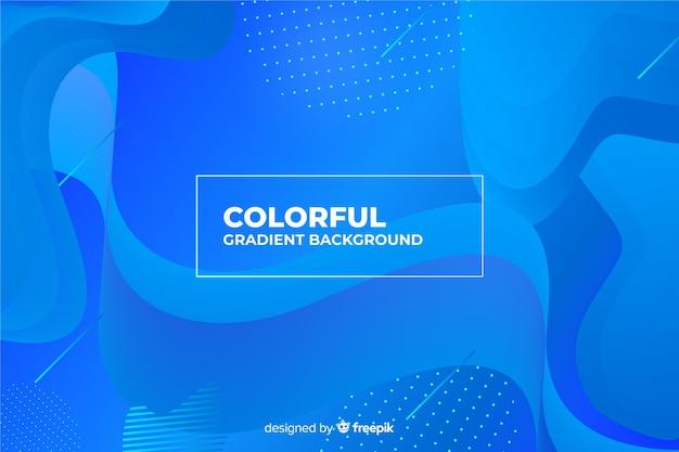 Fond coloré Vecteur gratuit