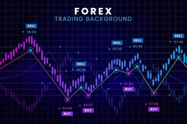 Fond De Commerce De Forex Vecteur gratuit