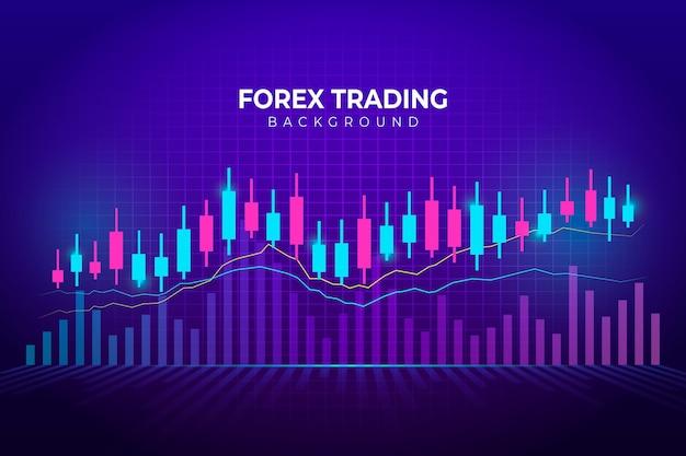 Fond De Commerce De Forex Vecteur Premium