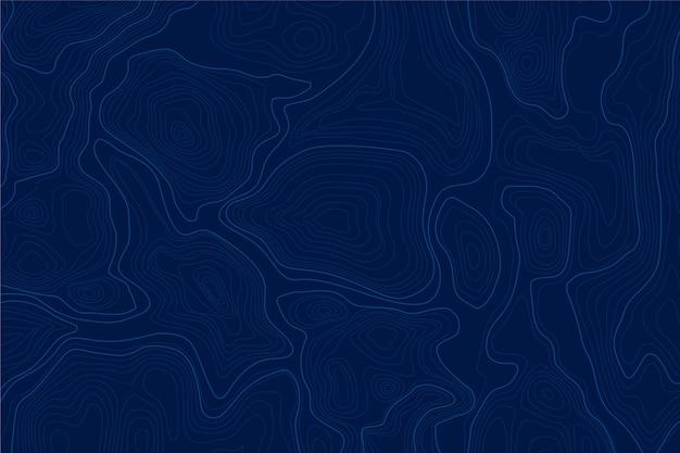 Fond Avec Concept De Carte Topographique Vecteur gratuit
