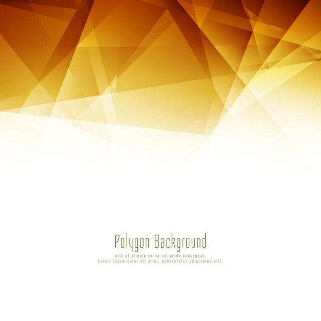 Fond De Conception Abstraite Polygone Lumineux Vecteur gratuit
