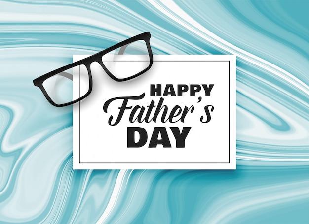 Fond de conception de carte bonne fête des pères Vecteur gratuit