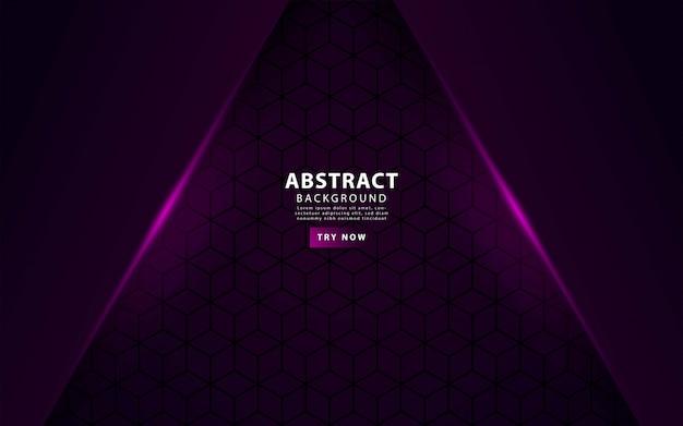 Fond de couches de luxe violet superposition Vecteur Premium