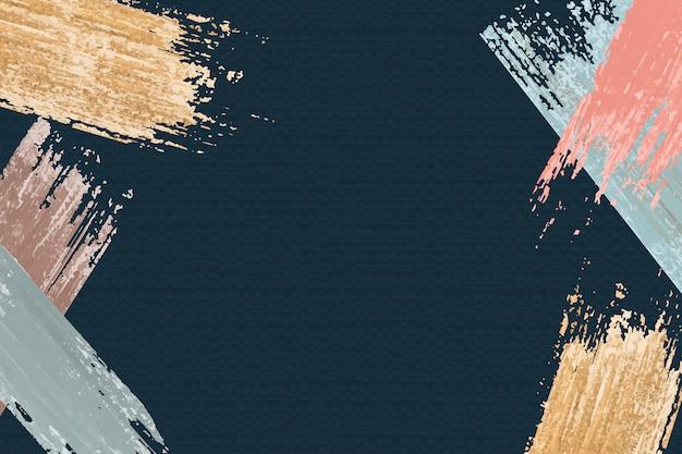 Fond de coups de pinceau Vecteur gratuit