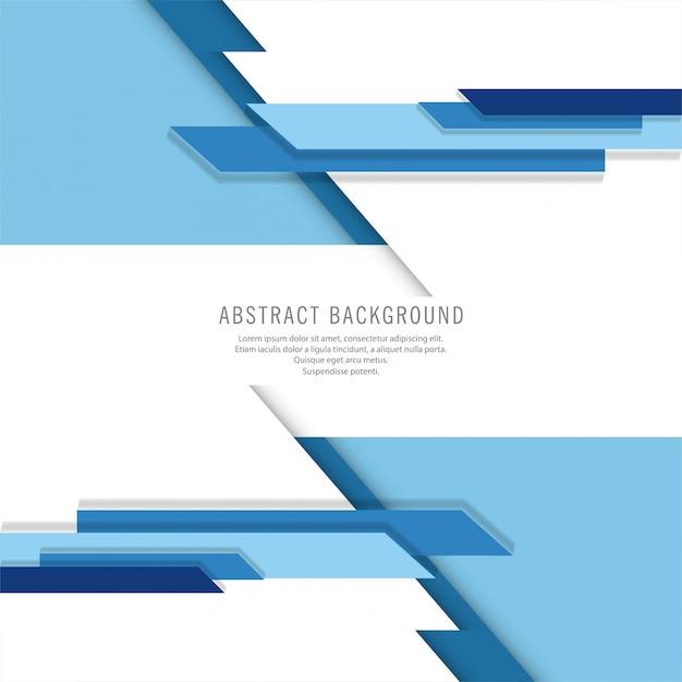 Fond de technologie moderne abstrait bleu Vecteur gratuit