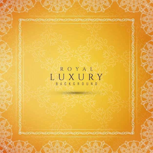 Fond décoratif de luxe abstrait Vecteur gratuit