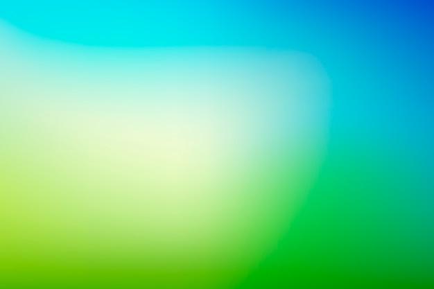 Fond Dégradé Dans Des Tons Verts Vecteur gratuit