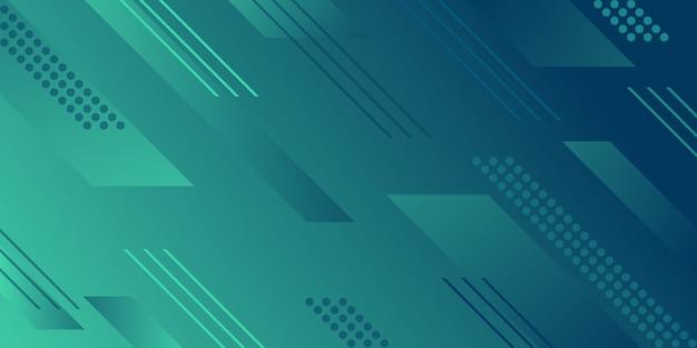 Fond dégradé de formes géométriques abstraites Vecteur Premium
