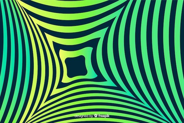 Fond dégradé optique effet illusion Vecteur gratuit