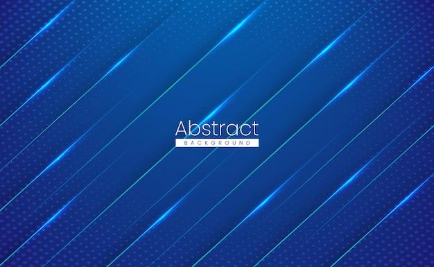 Fond Dégradé De Technologie Abstraite Colorée Moderne Brillant Vecteur Premium