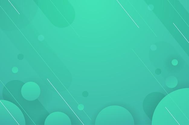 Fond Dégradé De Tons Verts Vecteur gratuit