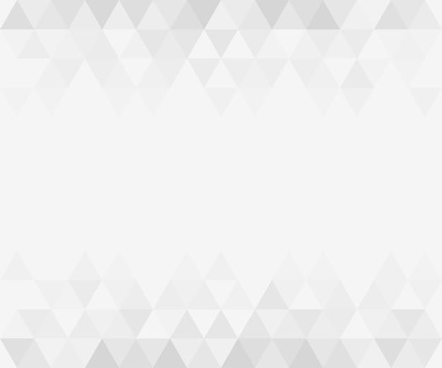 Fond Dégradé Triangulaire Abstrait Gris Vecteur Premium
