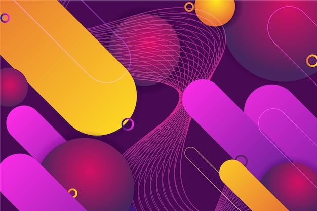 Fond D Ecran Abstrait Futuriste Vecteur Gratuite