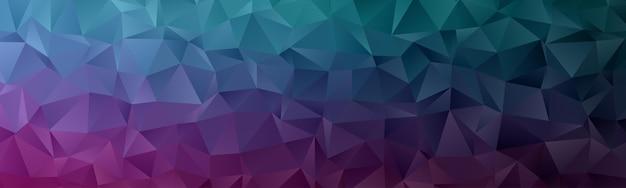 Fond D'écran Abstrait Polygone Géométrique. Cache-tête En Forme De Triangle Low Polly Vecteur Premium