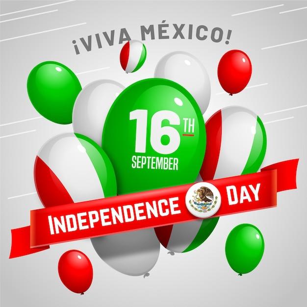 Fond D'écran Ballon Independencia De México Vecteur gratuit