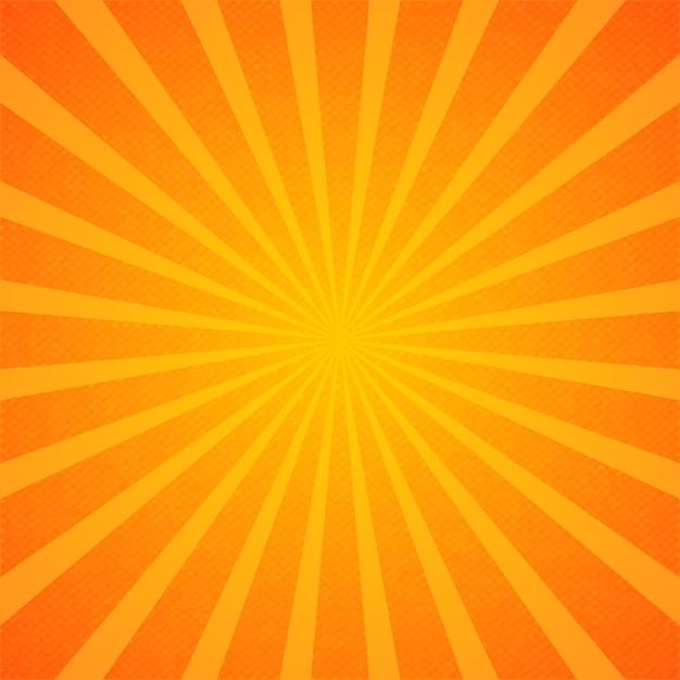Fond D'écran Sunburst Vecteur gratuit