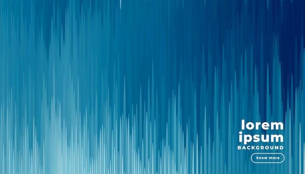 Fond D'effet D'art Numérique Glitch Bleu Vecteur gratuit